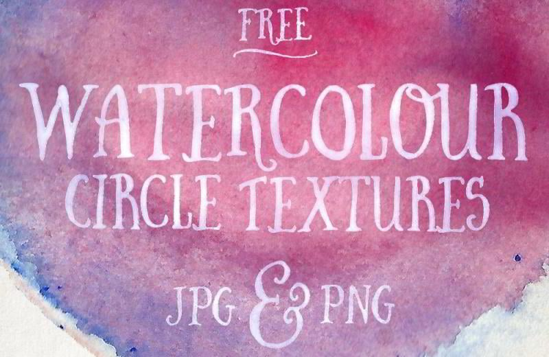12-free-watercolor-circle-textures