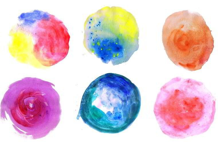 13-circle-watercolor-textures