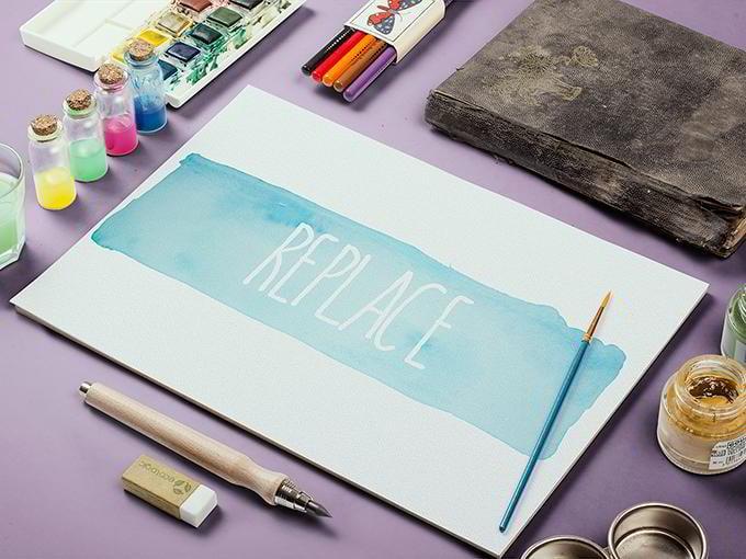 9-watercolor-sketch-mockup