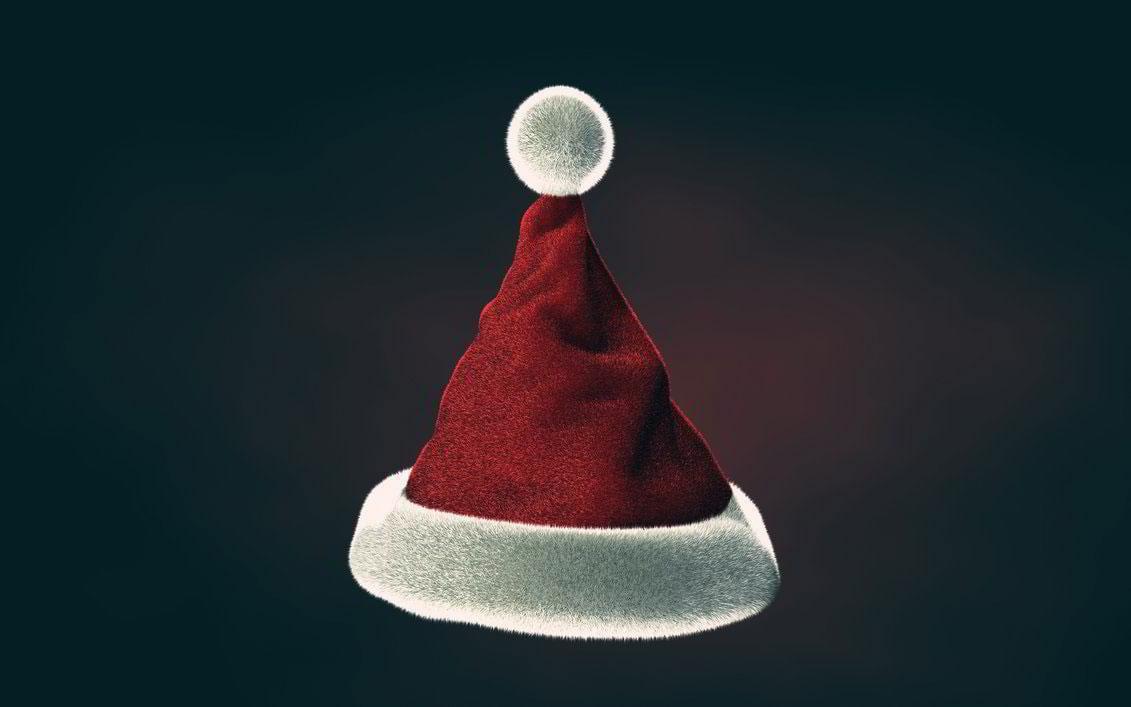 Christmas-Hat-3D