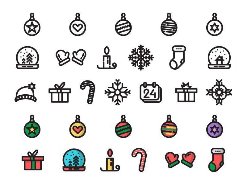 Christmas-Time-free-icon-set-by-Pavel-Chaloupka