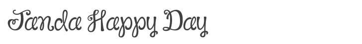 Janda-Happy-Day-Font