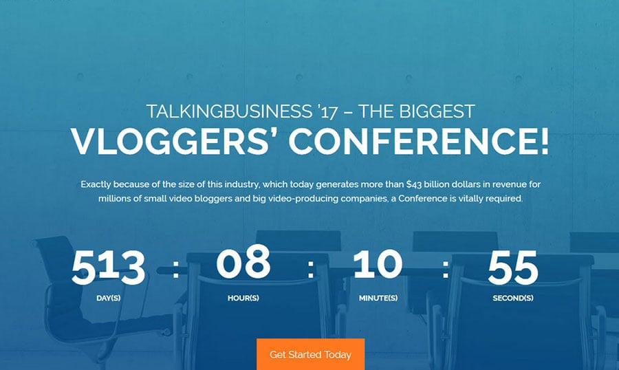 Nuevo tema WordPress gratuito para tu sitio web de conferencia ...