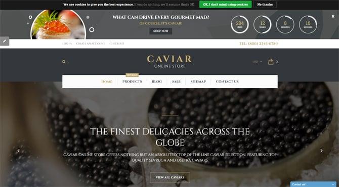 caviar-main-page
