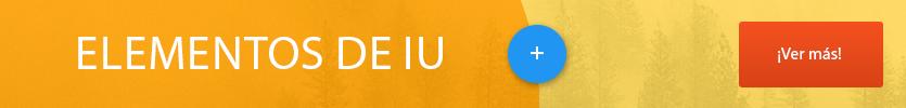 UI elements banner