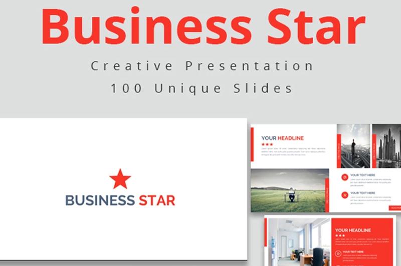 business-star-google-slides