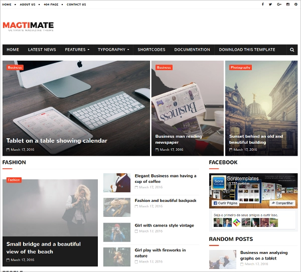 Free-MagtiMate-Blogger-Template