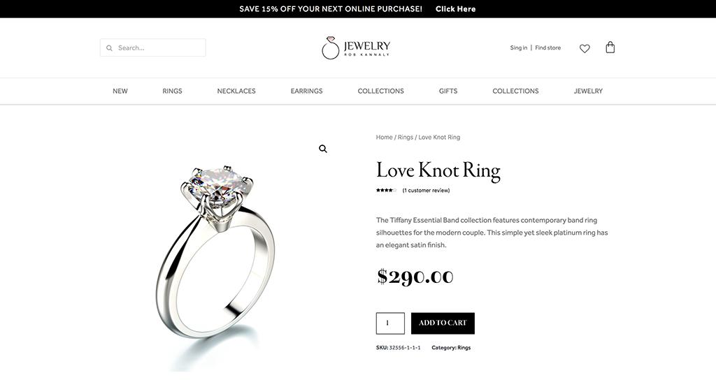pagina de producto personalizada