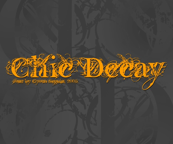 chic decay