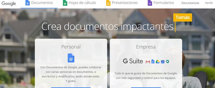 google docs gratis