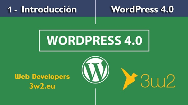curso wordpress gratis - 3w2