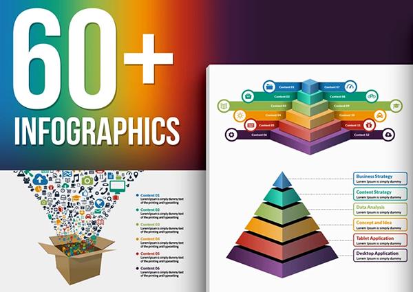 60 infografias