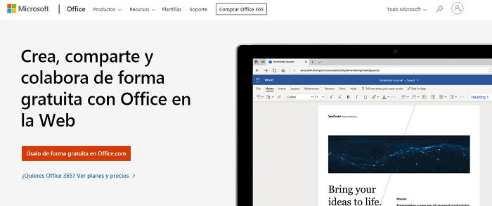 MS office online gratis