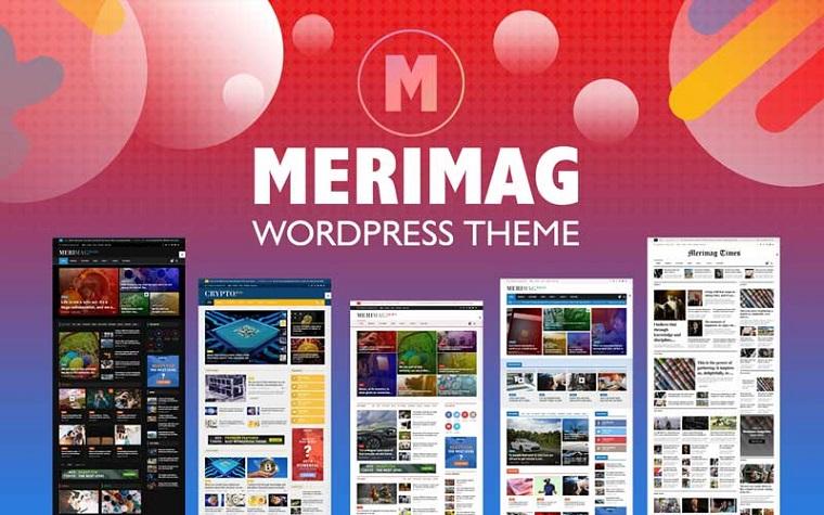 Merimag - Blog Revista Elementor y Noticias WordPress Thème.