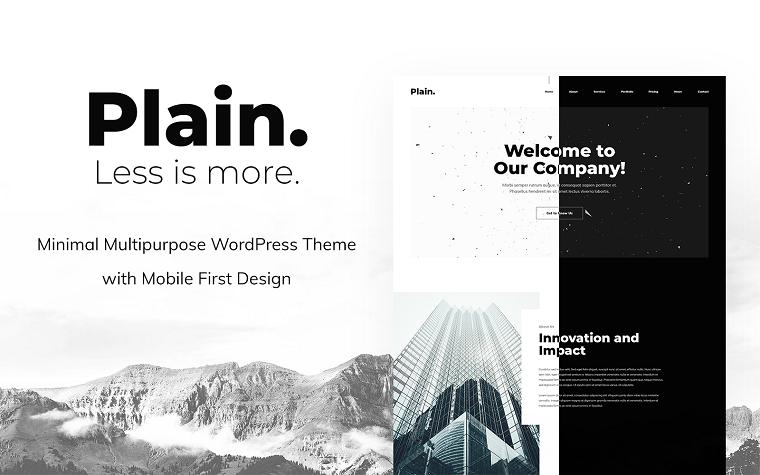 Llanura - Tema de WordPress.