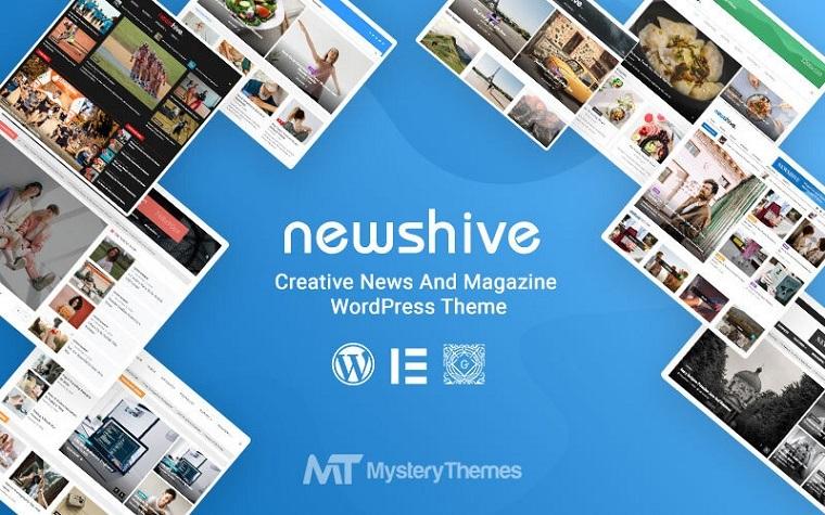 Newshive: tema de WordPress.
