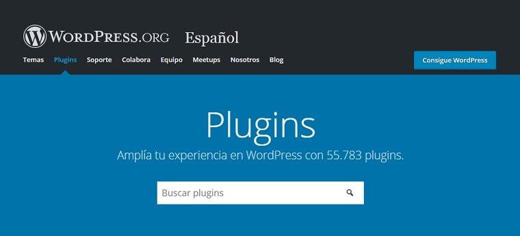 directorio wp plugins