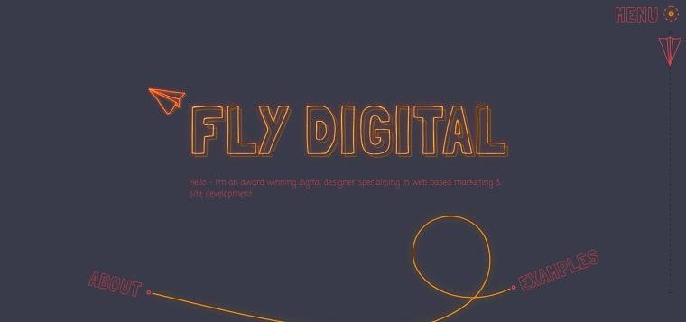 sitio web fly digital