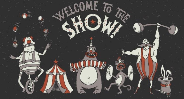 tipo de letra freaky circus