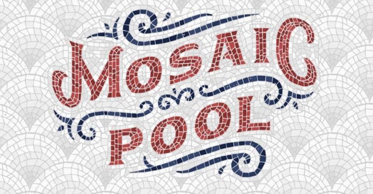 tipo de letra mosaic pool