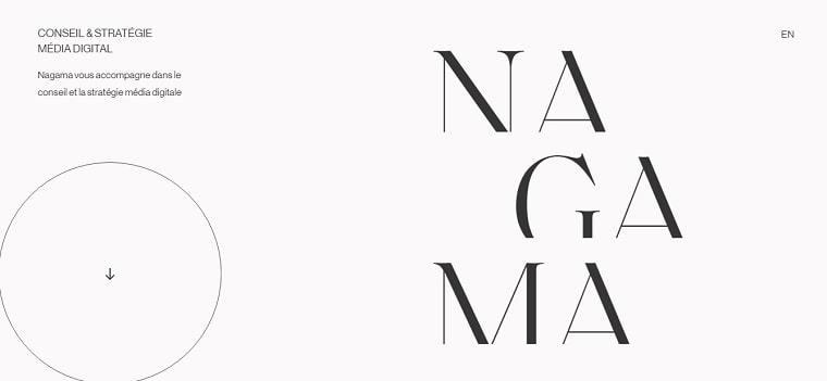sitio web nagama