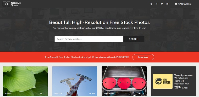 negative space fotos gratis