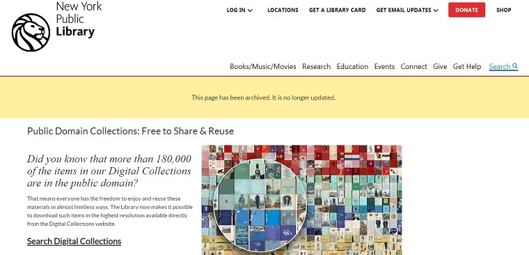 ny library fotos gratis