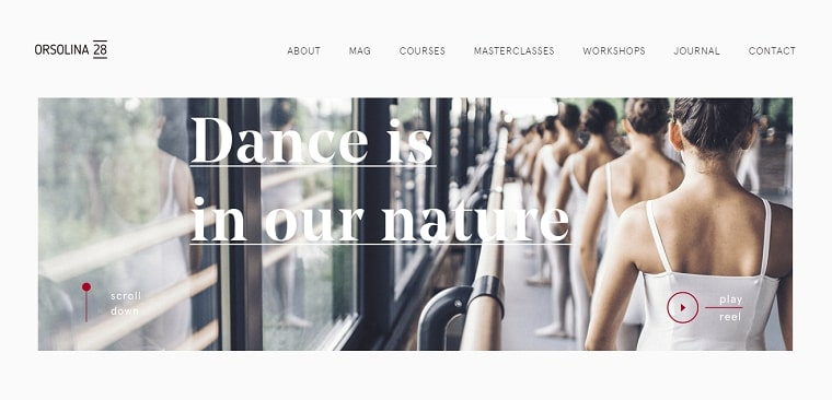 sitio web orsolina