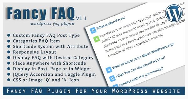 plugin faq wordpress fancy faq