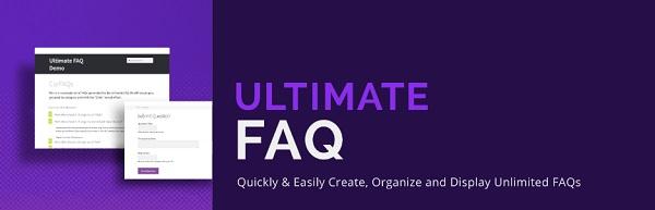 plugin faq wordpress ultimate faq