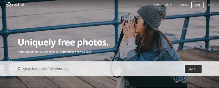 reshot fotos gratis