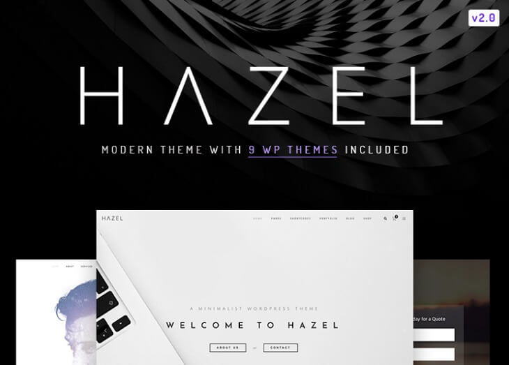 tema wp hazel