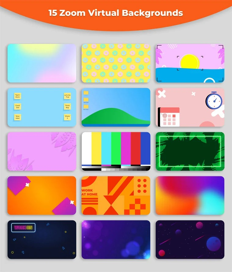 backgrounds para zoom