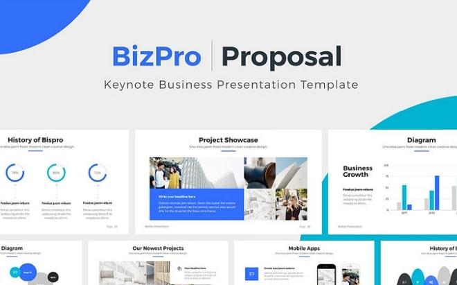 bizpro plantilla keynote