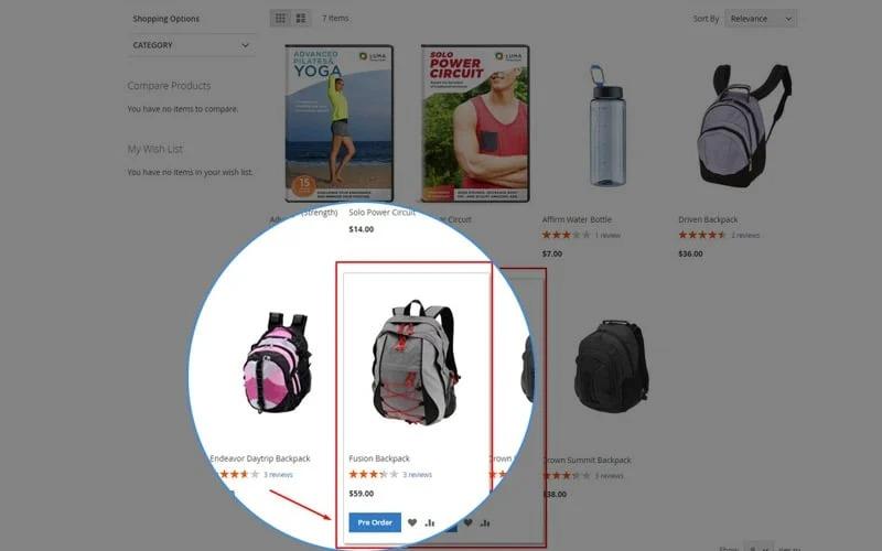 boton en pagina de categoria
