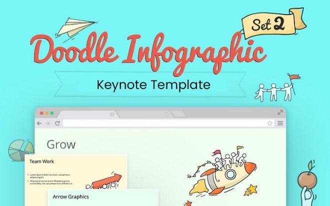 doodle pack plantilla keynote