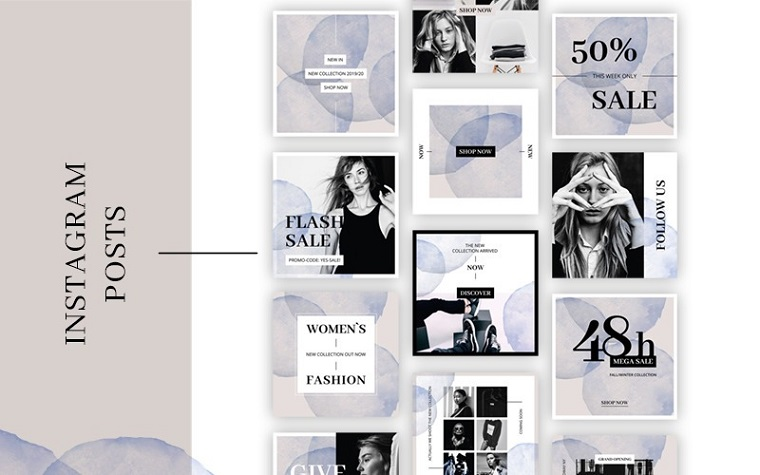 plantilla de instagram fashion