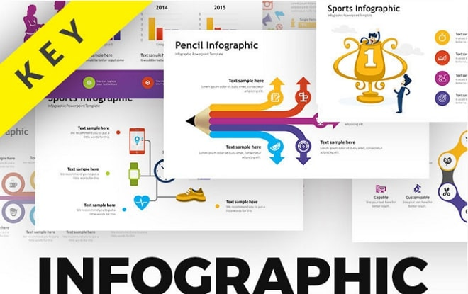 infographic pack plantilla keynote