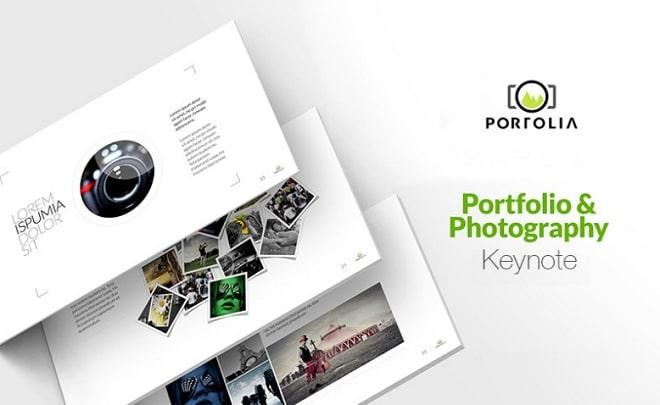 portolia plantilla keynote