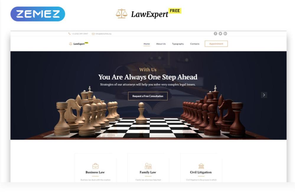 Law Expert HTML5 gratuit