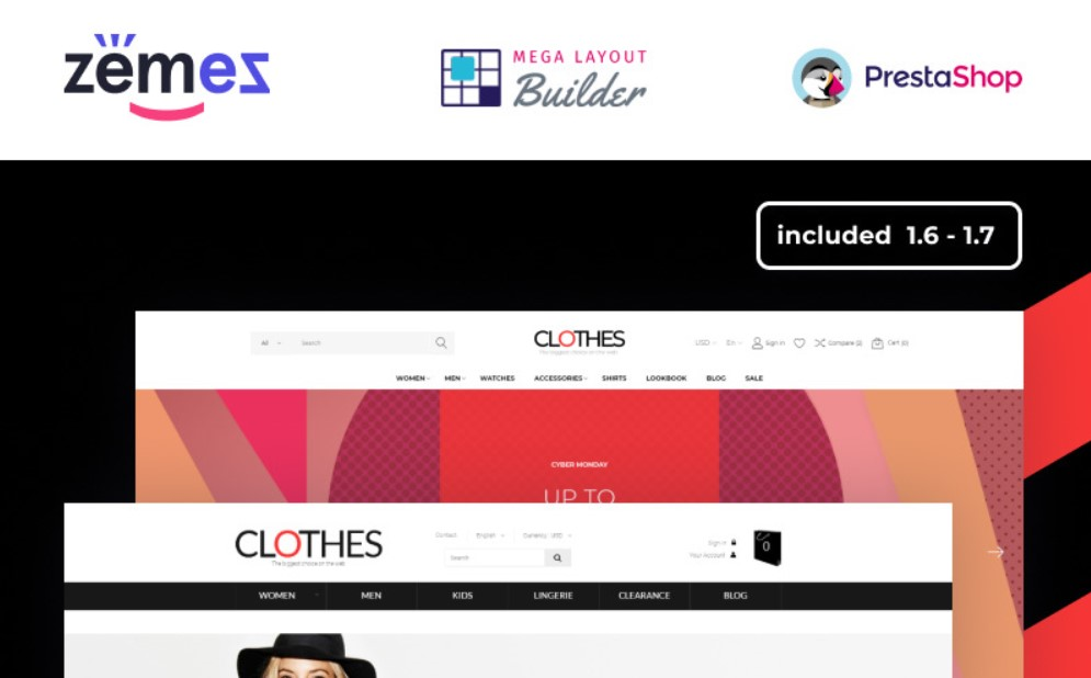 Clothes PrestaShop