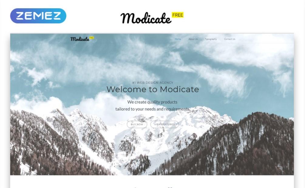 Modicate HTML5 gratuit