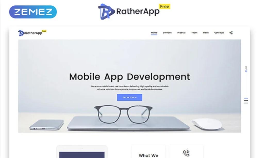 Rather App HTML5 gratuit