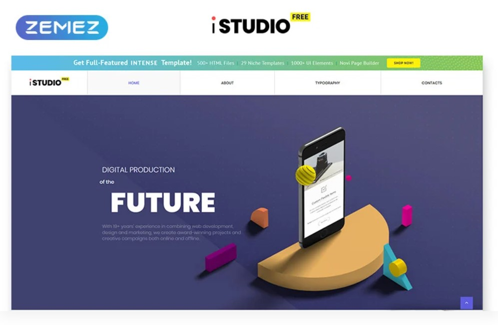 iStudio HTML5 gratuit