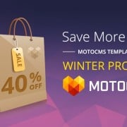 Risparmia con MotoCMS: – 40% su Tutti Modelli