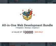 Abbiamo lanciato il nostro pacchetto All-in-One per sviluppatori web!