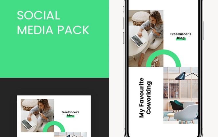Modelli Instagram freelance per social media.