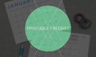 Darmowe Printables – skonfiguruj cele na rok 2015