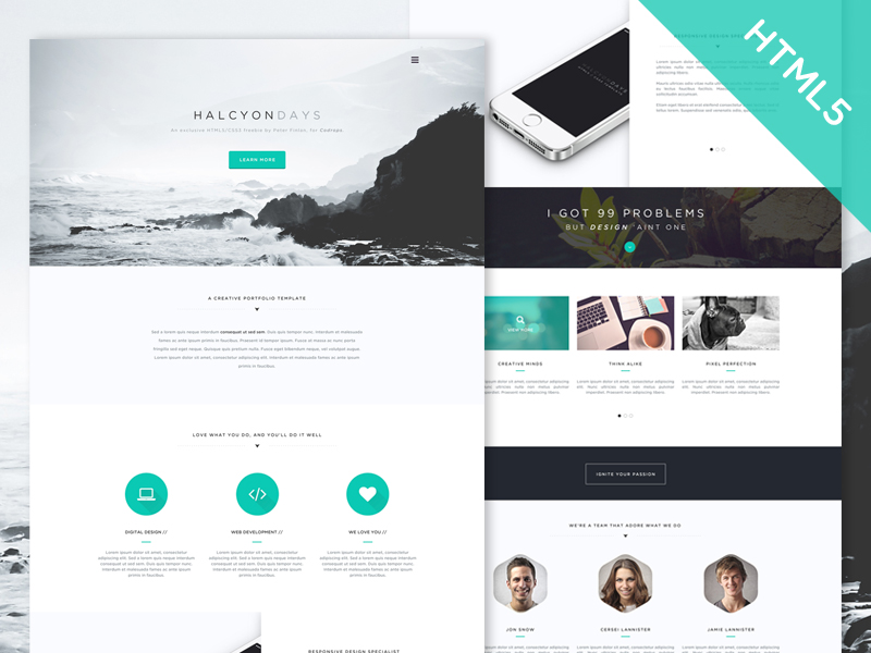 Web design trendy 2020 - 04