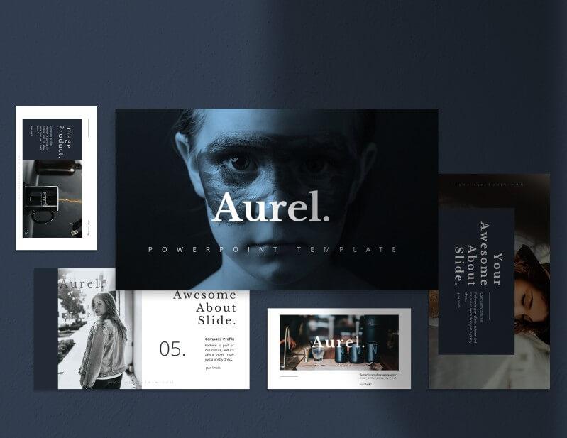 Szablony PowerPoint - Aurel